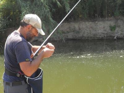 galleggiante a pera francesino pesca canna trota lago fiume corrente bolognese